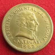 Uruguay 5 Pesos 1965 KM# 47  Uruguai - Uruguay