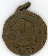 °°° Medaglia - Dritto - Assoc. Naz. Bersaglieri 23/24/10/1963 Spor - Rovescio Xviii Raduno Naz. Bersaglieri Roma°°° - Italia