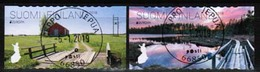 2018 Finland, Europa Cept Bridges M 2571-2, Complete Fine Used Set. - Finlande