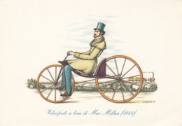 Il Velocipede - Velocipede A Leva Di Mac Millan 1840 - Cartoline