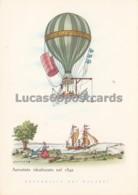 Aerostati - Aerostato Idealizzato Nel 1849 - Altri