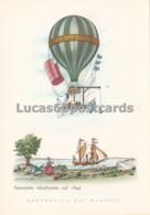 Aerostati - Aerostato Idealizzato Nel 1849 - Cartoline