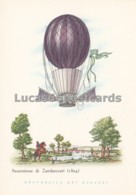 Aerostati - Ascensione Di Zambeccari 1804 - Cartoline