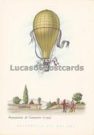 Aerostati - Ascensione Di Garnerin 1795 - Cartoline
