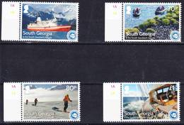 2019-0022 South Georgia 2016 IAATO Antarctica Tours Complete Set Mi 674-677 MNH ** - Géorgie Du Sud