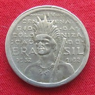 Brazil Brasil 100 Reis 1932 400 Anniversary Of Colonization Bresil #2 - Brésil