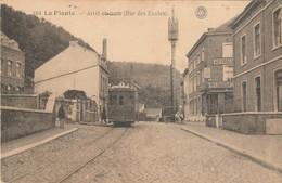La Plante ,arret Du Tram ( Rue Des écoles ) , Tram électrique , Tramway ;  ( Hermans N° 104  ) - Namur
