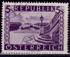 Austria 1947-48, Scenic Schoenbrunn, 5s, Sc#515, Used - 1945-.... 2nd Republic