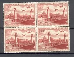 PA 28 Congrès International De Télégraphie Et Téléphonie - Bloc De 4  Neufs XX Sans Charniéres - 1927-1959 Neufs