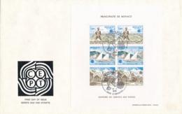 Monaco - 1979 - Europe - Block On FDC - FDC