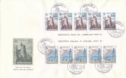 Monaco - 1977 - Europe - Block On FDC - FDC