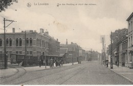 La Louvière ,Rue Des Houdeng Et Dépot Des Vicinaux , Tram Vicinal - La Louvière