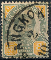 Stamp Thailand 1887 4a  Used Lot#12 - Timbres