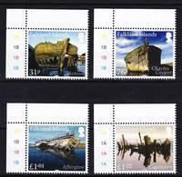 2019-0029 Falkland Islands 2017 Ship Wrecks Complete Set MNH ** - Falkland Islands
