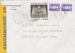LSC Recommandé 1992 - Cachet - PALAISEAU - ECOLE POLYTECHNIQUE  Sur YT 2706 - Marcophilie (Lettres)