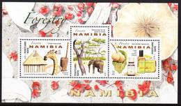 2019-0024 Namibia 2016 Forestry MS MNH ** - Namibie (1990- ...)
