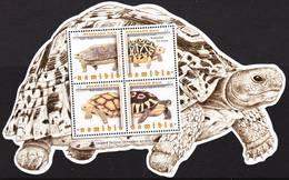 2019-0026 Namibia 2016 Leopard Tortoise MS MNH ** - Namibie (1990- ...)