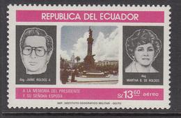1983 Ecuador President Independence   Complete Set Of 1  MNH - Equateur