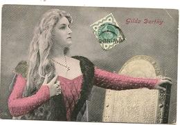 Gilda DARTHY  Comédienne Théâtre Artiste Femme - Artistes