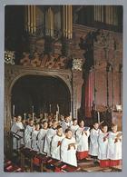 NL.- KING'S COLLEGE CHAPEL. Procession Of Choir At The Advent Carol Service. - Kerken En Kathedralen