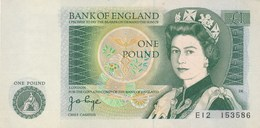 Billet  De Banque  England  1 Pound - 1 Pound