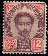 Stamp Thailand 1887 12a  Mint Lot#23 - Stamps