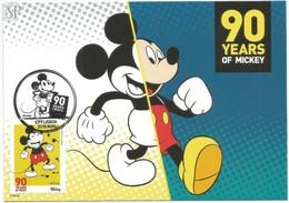 Postal Máximo Rato Mickey Mouse 2018 Lisboa Portugal Maximum Maxicard Maximo Famous People Walt Disney Comico Comics BD - Cartes-maximum (CM)