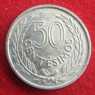 Uruguay 50 Centesimos 1965 KM# 45  Uruguai - Uruguay