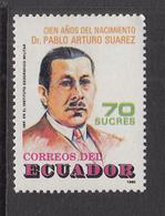 1989 Ecuador Suarez Complete Set Of 1  MNH - Ecuador