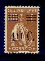 ! ! Portugal - 1928 Ceres W/OVP 40 C - Af. 476 - MNH - 1910-... Republic