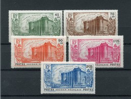 !!! PRIX FIXE : SOUDAN, SERIE BASTILLE N°105/109 NEUVE * - Soudan (1894-1902)