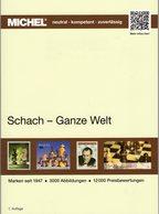 MICHEL-Katalog Schach 2018/2019 Neu 49€ Schachspiel Stamps Catalogues Chess Of All The World ISBN 978-395402-244-1 - Boeken Voor Kinderen