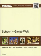 MICHEL-Katalog Schach 2018/2019 Neu 49€ Schachspiel Stamps Catalogues Chess Of All The World ISBN 978-395402-244-1 - Saber