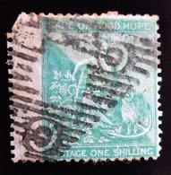 1864 CAP DE BONNE ESPERANCE .  CAPE OF GOOD HOPE . Mi 10a - Allegory Of Hope - Afrique Du Sud (...-1961)