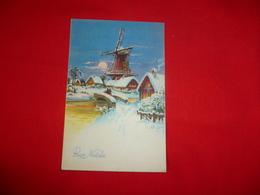Cartolina Auguri Buon Natale - Noël
