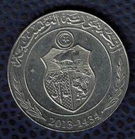 Tunisie 2013 Pièce De Monnaie Coin 1 Dinar Tunisien 2013 - 1434 - Tunisie