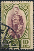 Stamp Thailand 1928 10b   Used Lot#25 - Thailand