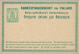 FINLANDIA , ENTERO POSTAL SIN CIRCULAR - Finlande