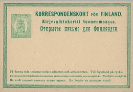 FINLANDIA , ENTERO POSTAL SIN CIRCULAR - Finlandia