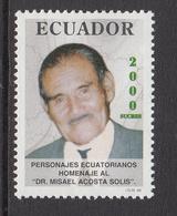 1998 Ecuador Solis Botanist Plants  Complete Set Of 1  MNH - Equateur