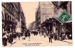 3837 -  Paris ( XIe ) - Faubourg Du Temple , Pris De La Rue De Malte - P.F. à Paris - - Arrondissement: 11
