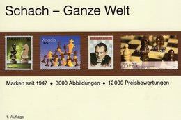 Briefmarken Schach MICHEL 2018/2019 New 49€ Schachspiel Stamp Catalogue Chess Of All The World ISBN978-395402-244-1 - Temas