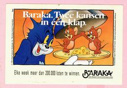 Sticker - Baraka - Twee Kansen In één Klap - 1991 - Loterij - Autocollants