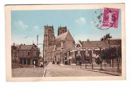 80 Corbie Rue Hersent Cpa Cachet Corbie 1936 - Corbie