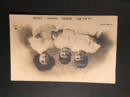 Cartolina - Le AA. RR. Mafalda Umberto Jolanda - 1907 - Cartoline