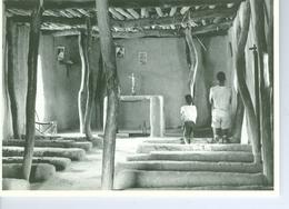 CP Mali , Bobo-Oulé (San), Chapelle De Tiotio 1969 Photo Vivant Univers PP. Blancs - Mali