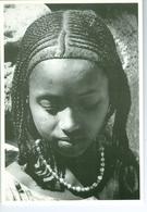 CP Djibouti Jeune Fille Afar, Vers 1980 Photo Vivant Univers PP. Blancs - Djibouti
