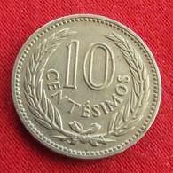 Uruguay 10 Centesimos 1953 KM# 35  Uruguai - Uruguay
