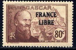 MADAGASCAR - 245* - JEAN LABORDE / FRANCE LIBRE - Madagascar (1889-1960)