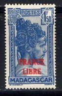 MADAGASCAR - 248* - TRANSPORT EN FILANZANE / FRANCE LIBRE - Madagascar (1889-1960)